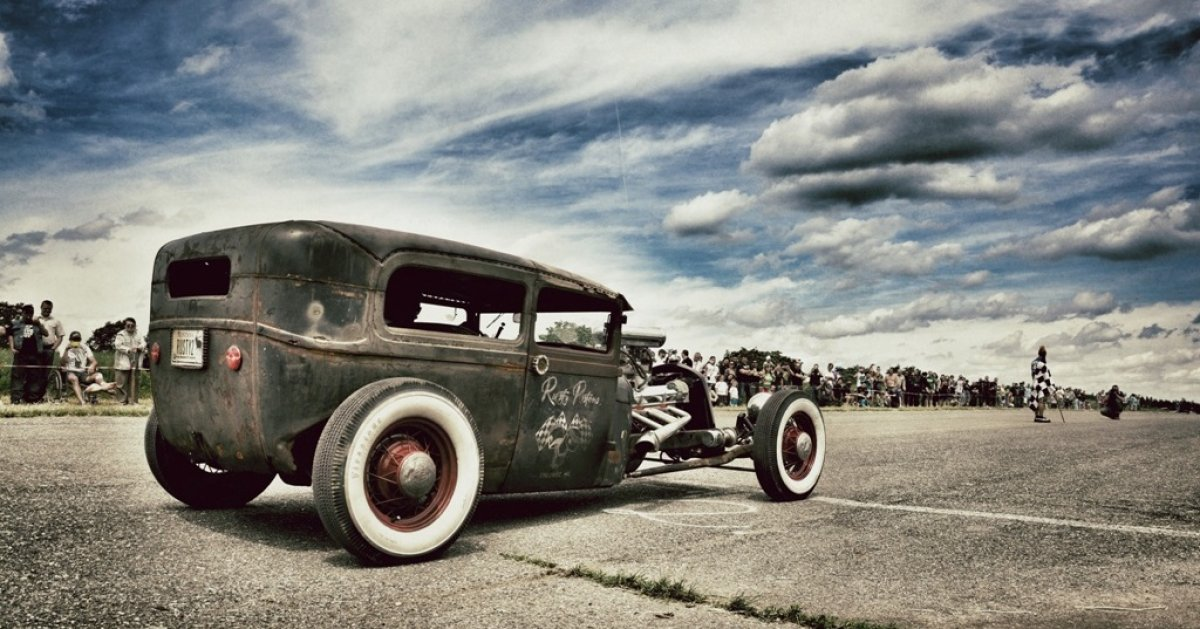 '30 Ford Model A: Zombie Rod by Rusty Pistons
