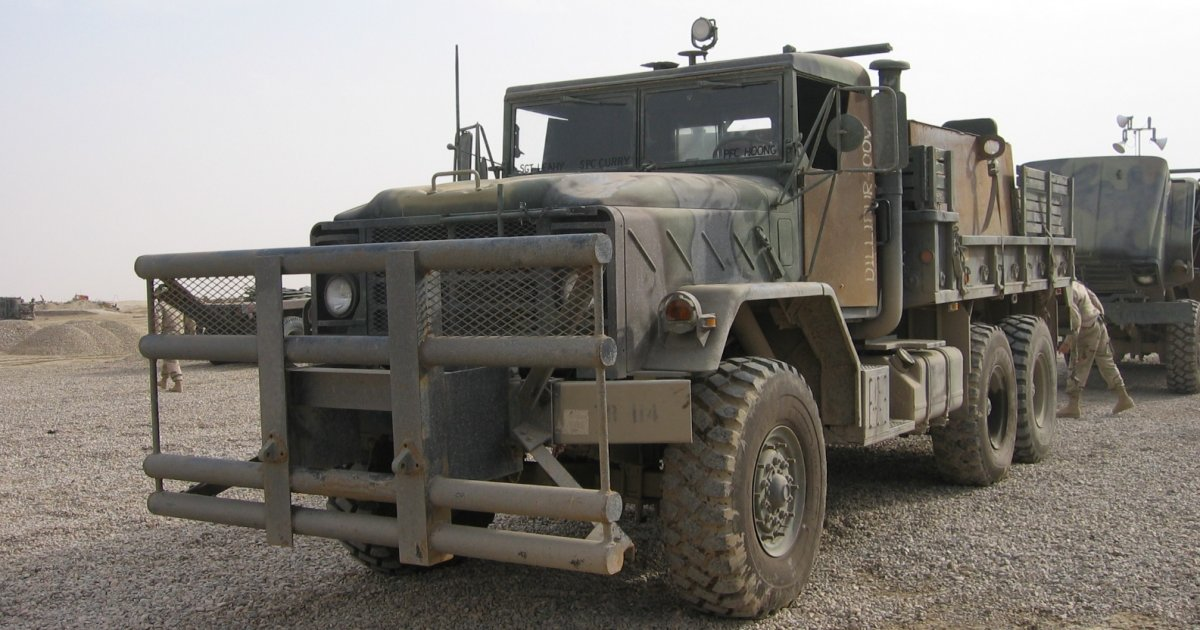 "Bizarre American ""gun-trucks"" in Iraq"