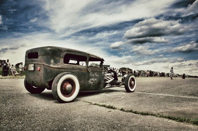 Ford A 1930: Zombie rod od Rusty Pistons!