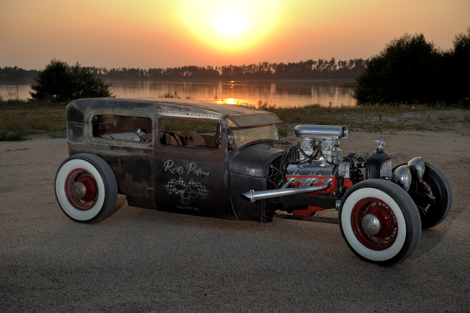 30 Ford Model A Zombie Rod by Rusty Pistons