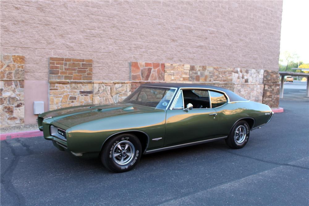 Nadupaný Pontiac GTO z roku 1968