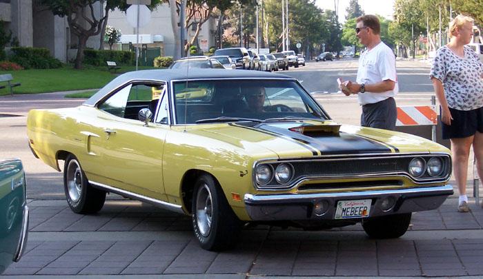 '70 Plymouth Road Runner byl jeden z nejdivočejších muscle cars