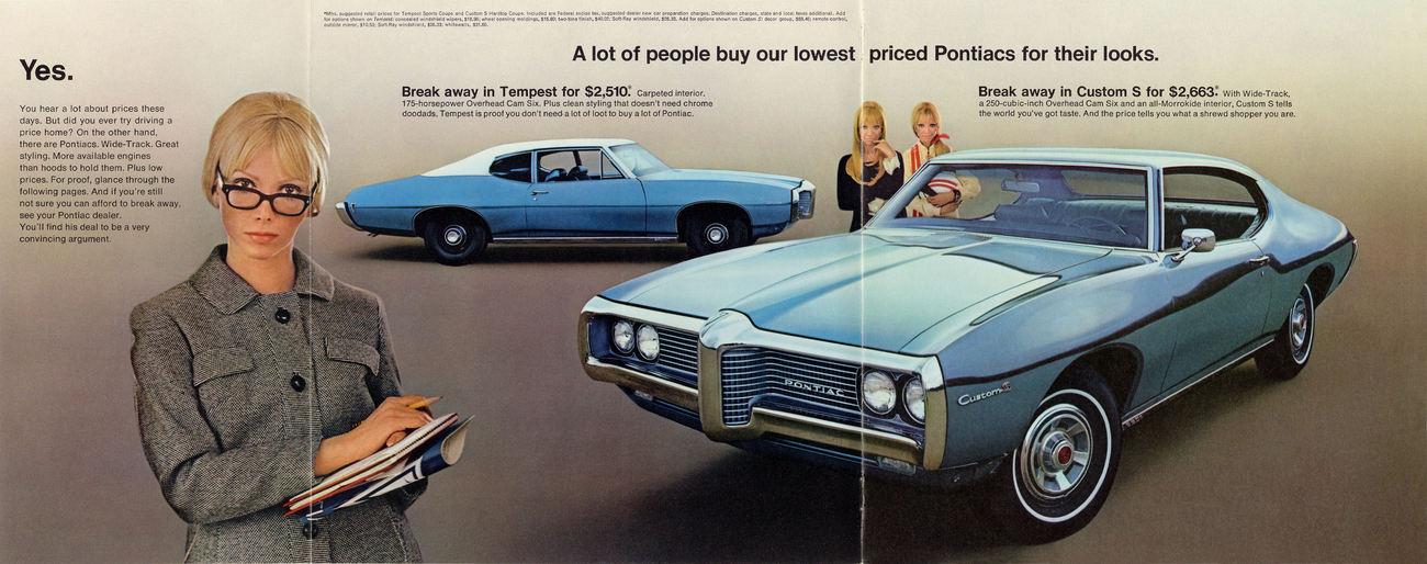 Rodinný Pontiac Tempest z roku 1968