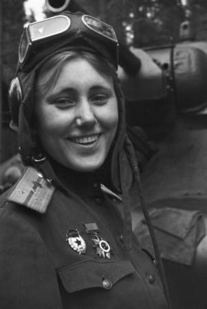 kpt.Alexandra Samušenková, 1.gardová tanková armáda SSSR, 1943