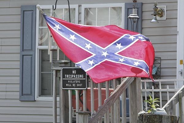 Obyčejní Američané na jihu USA jsou na jeden ze svých symbolů stále hrdí