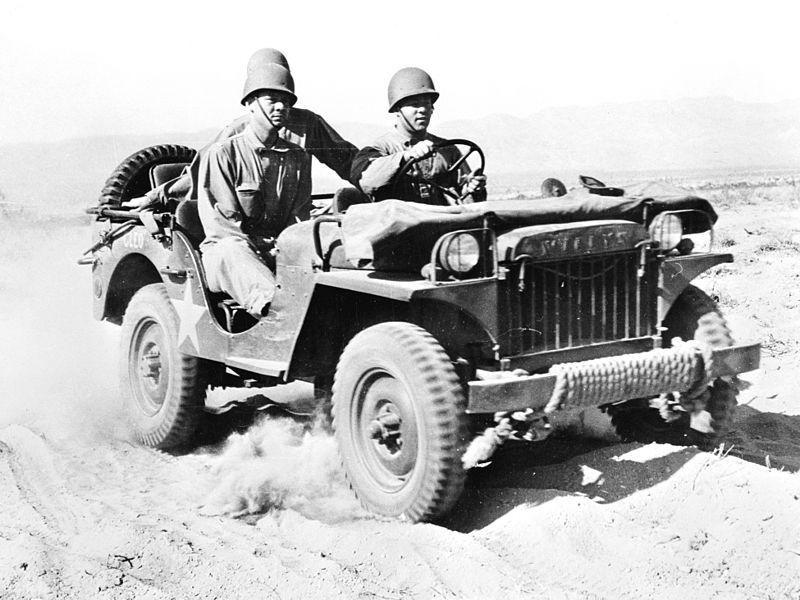 Jeden z prvních Willysů MA